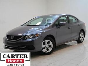 2014 Honda Civic LX + HEATED SEATS + BLUETOOTH + CERTIFIED!