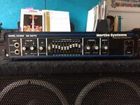 Hartke HA3500 Bass Amplifier Head 350 Watts (recently serviced)