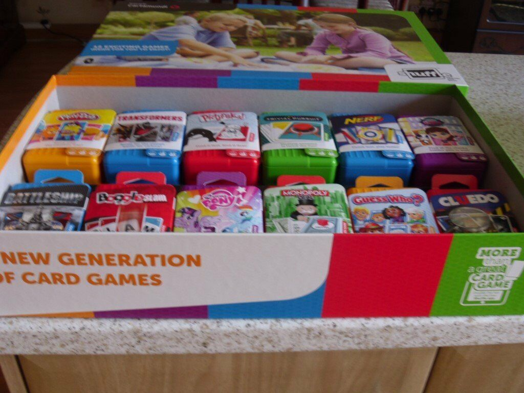 Brand New Box of 12 Shuffle Board games