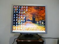 "ATMT 19"" TFT LCD MONITOR Silver/black model A19558MT"