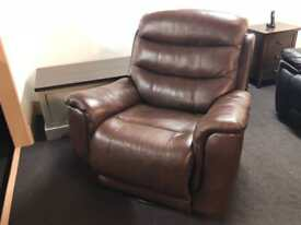La-Z-Boy single rocker reclining swivel chair. Ex disokay