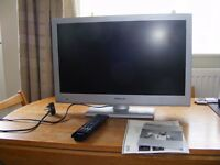 "Finlux 24"" tv DVD Combi for sale with freeview. Can recieve sky with the right cables"