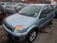 *FORD FIESTA FUSION ZETEC CLIMATE 1.4*1 YEARS MOT*FULL SERVICE*VERY CLEAN INSIDE AND OUT**ONLY £1495