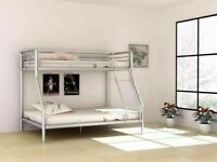 🔵💖🔴SUPREME SALE OFFER🔵💖🔴TRIO SLEEPER METAL BUNK BED SAME DAY EXPRESS DELIVERY