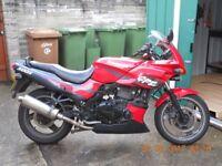 2002 Kawasaki GPZ 500s