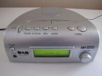 Acoustic solutions DAB clock radio.