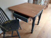 Pine kitchen table antique