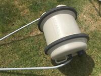 Aqua roll 29ltr complete with handle used but very serviceable