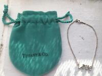 Tiffany & Co love bracelet with pouch
