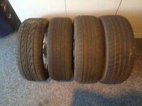"""15 """" 4 stud alloy wheels Toyota"""