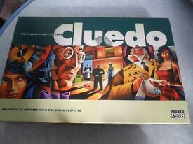 Classic Parker Cluedo Detective Board Game