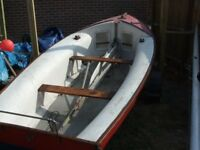 Dinghy, Sailing Dinghy, Boat on as new Road Trailer. BARGAIN. Worth a LOOK.