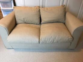 Small Foam Sofa Bed - Beige