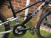"Boys Apollo Ridge mountain bike 24"" wheels, excellent condition"