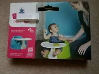 Bumbo tray never been used