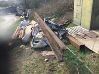 Steel RSJ or gate barrier