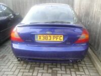 Mondeo ST200 , future classic , spares or repairs , engine runs clutch gone , no mot , rare car now