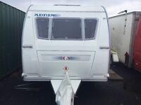 Adria swift 4 berth caravan pristine condition comes with all equipment