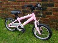 Girls lightweight ridgeback bike 16inch wheels