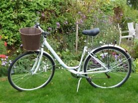 Ladies Bicycle - new and unused. With basket and pannier frame
