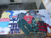 Large bunde of boys clothes age 18 months - 2 years from NEXT, M&S, Mothercare - freshly washed!