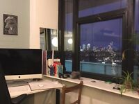 Desk spaces in creative studio, Broadway Market / London Fields / Hackney E8