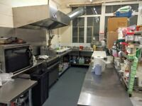 Commercial Kitchen to hire and rent in Battersea SW8 London (ideal for Ubereats and Deliveroo)