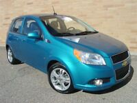 2009 Chevrolet Aveo 5 LT. WOW!! Only 38000 Km!! Automatic! P.Sun