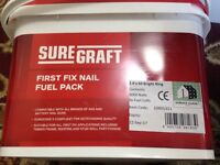 Sure graft first fix nail fuel pack