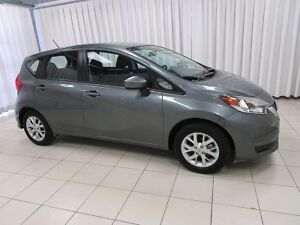 2018 Nissan Versa SV NOTE 5DR HATCH WITH BLUETOOTH, CRUISE, ALLO