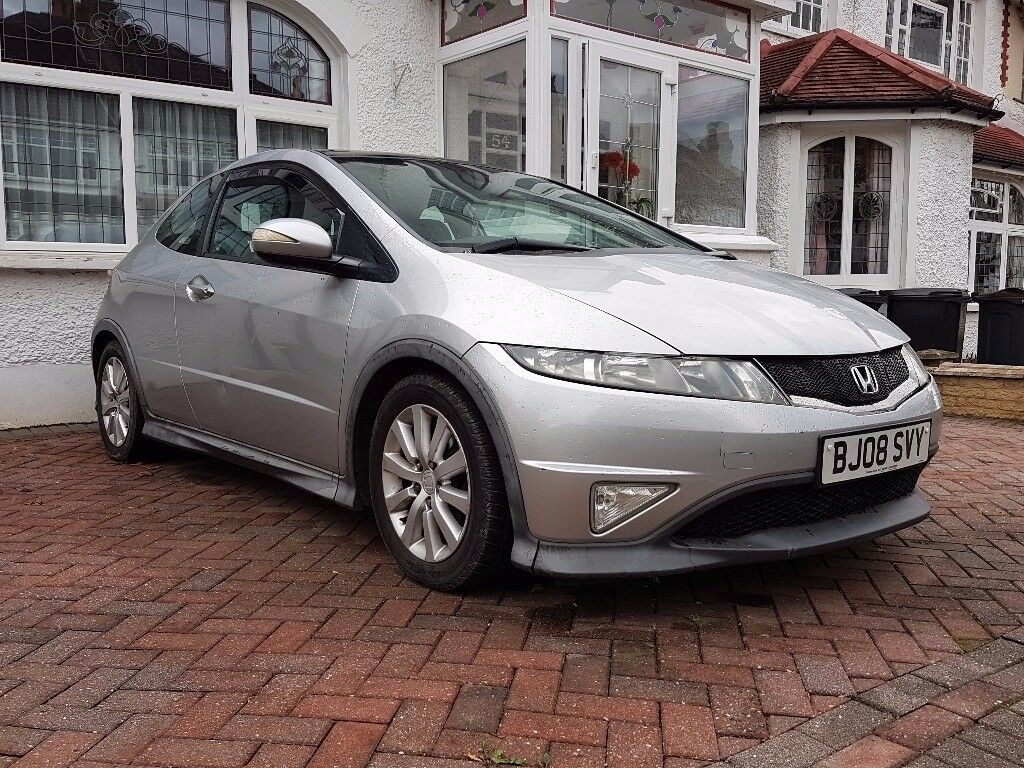 Honda Civic Type S Auto/Automatic, Pan Roof, Sports Seats, Silver, Type R Look Alike ** CHEAPPP **