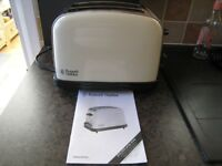 Russell Hobbs Electric 2 Slice Toaster - Cream