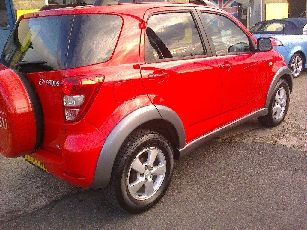 Daihatsu terios 15 sx 07 reg mk 2 low mileage red 5 door in daihatsu terios 15 sx 07 reg mk 2 low mileage red 5 door sciox Choice Image