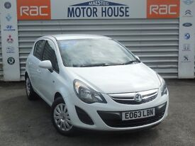 Vauxhall Corsa DESIGN AC (5 DOORS) FREE MOT'S AS LONG AS YOU OWN THE CAR!!! (white) 2014