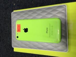 iphone 5 c green open box buy from store (warranty /good condition