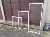 TRIPLE GLAZING PANELS. ONLY 3 LEFT VARIOUS SIZES. £5 each. £12 for 3. NO TEXTS PLEASE.