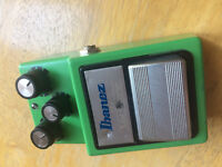 Ibanez Tube Screamer TS9 Distortion Effects Pedal