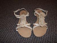 2 pairs of size 5 sandals/mules - £3.00 per pair