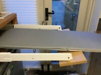 Fold away ironing board (for inside a kitchen drawer)