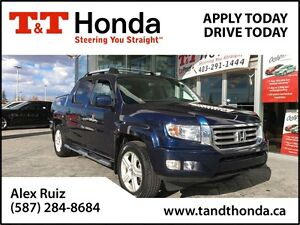 2013 Honda Ridgeline Touring *No Accidents, Local Truck, Heated