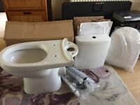 Ivo toilet complete with all fittings and seat new in box