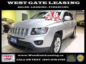 2014 Jeep Compass SPORT 4WD | LEATHER | CERTIFIED |