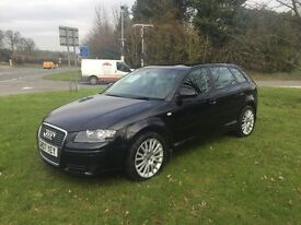 Audi A3 black, automatic, years mot