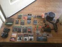 Carp End Tackle mostly Korda and fox with a brand new large Korda krusha And esp camo catapult