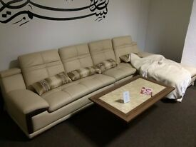 Cream Boka Corner Sofa (Display Model)