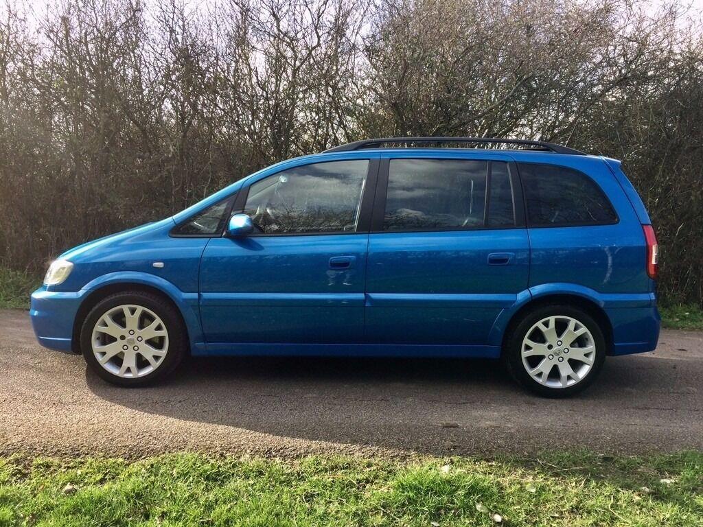 2003 Vauxhall Zafira 2.0 i Turbo 16v GSi MPV 5Door Petrol Manual (225 g/