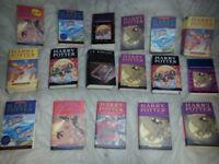 22 X Hardback/Paperback Harry Potter Books.