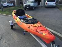 Brand new fishing kayak.