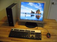 "HP Dual Core PC Computer, 19"" LCD Monitor, Dual Core, 4GB RAM. Wi-Fi Internet. Excellent Condition."