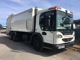 DENNIS EAGLE ELITE REFUSE TRUCKS 5 IN STOCK ALL DIRECT FROM COUNCIL ALL WORKING PRICED TO CLEAR